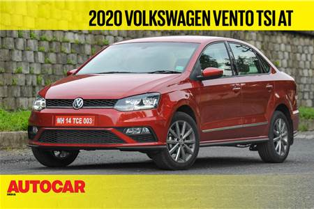 2020 Volkswagen Vento 1.0 TSI AT video review