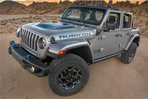 Plug-in-hybrid Jeep Wrangler 4xe revealed
