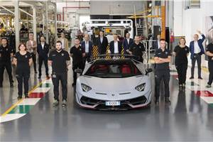 10,000th Lamborghini Aventador produced