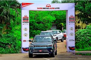 Mahindra kicks off road safety campaign with multi-city drive