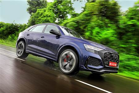 Audi RS Q8 India review, test drive