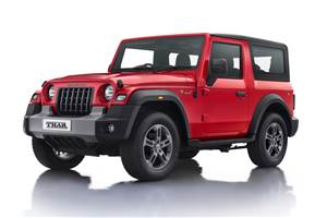 First 2020 Mahindra Thar to be auctioned for charity
