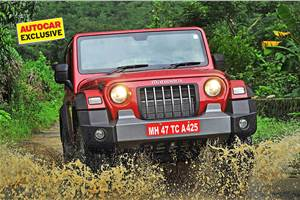 5-door Mahindra Thar greenlit for production