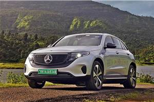 Mercedes EQC India launch on October 8, 2020