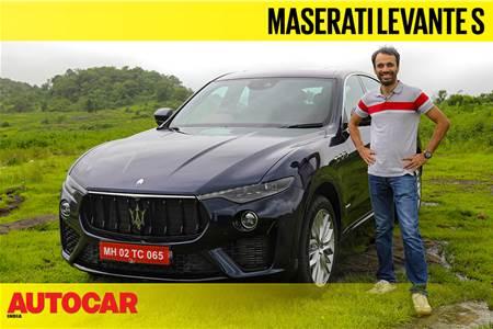 Maserati Levante S India video review
