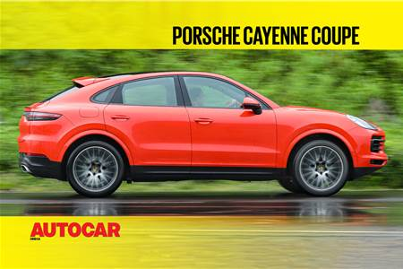 Porsche Cayenne Coupe India video review