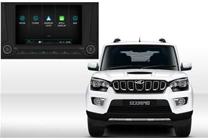 Mahindra Scorpio now gets Android Auto, Apple CarPlay