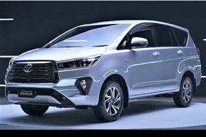 2021 Toyota Innova Crysta facelift revealed