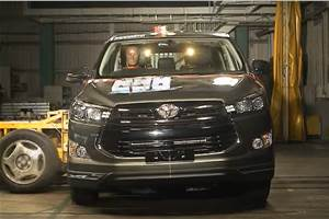 2020 Toyota Innova awarded 5 star ASEAN NCAP rating