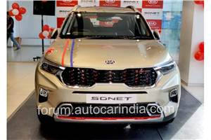 Kia Sonet bookings cross 50,000 in two months