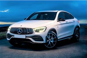 2020 Mercedes AMG GLC 43 4MATIC Coupe to launch on November 3