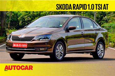 2020 Skoda Rapid 1.0 TSI automatic video review
