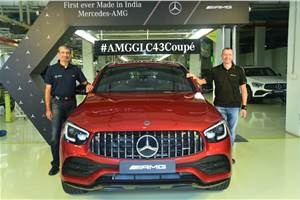 Mercedes AMG GLC 43 4MATIC Coupe launched at Rs 76.70 lakh