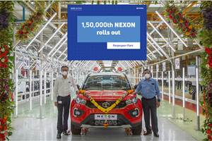 1,50,000th Tata Nexon rolls off the production line