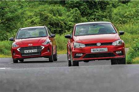 Hyundai Grand i10 Nios Turbo vs Volkswagen Polo 1.0 TSI comparison