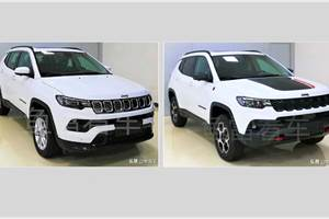 Jeep Compass facelift: first pictures surface