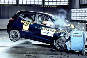 Hyundai Grand i10 Nios secures two stars in Global NCAP crash tests