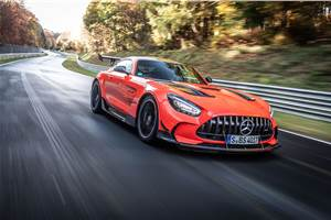 Mercedes-AMG GT Black Series claims Nurburgring lap record