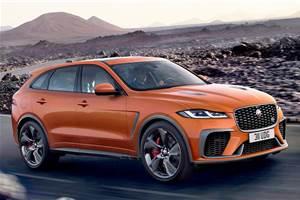 2021 Jaguar F Pace SVR gets a makeover and performance boost