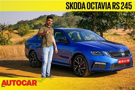 Skoda Octavia RS 245 video review
