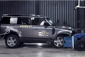 Land Rover Defender secures 5-star Euro NCAP rating