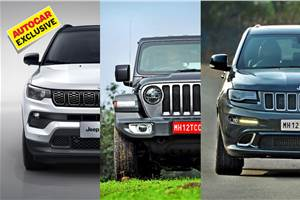 Jeep to launch four new SUVs in two years; compact SUV to follow