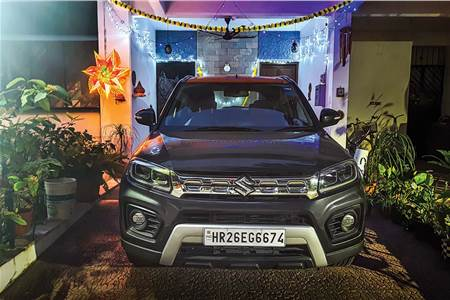 Maruti Vitara Brezza petrol AT long term review, first report
