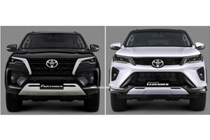 2021 Toyota Fortuner vs Fortuner Legender: How different are they?