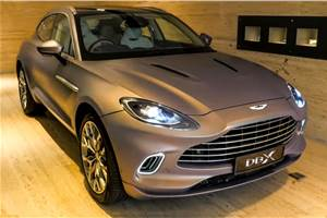 Aston Martin DBX launched at Rs 3.82 crore