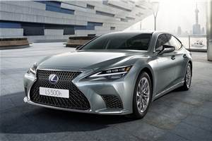 Updated Lexus LS 500h sedan launched at Rs 1.91 crore