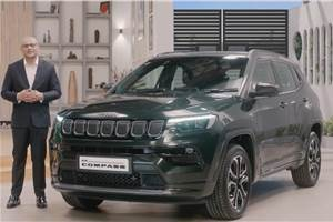 Jeep Compass facelift launched at Rs 16.99 lakh