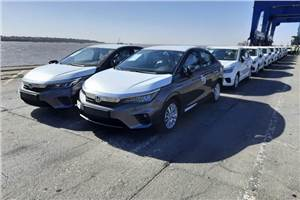 Honda City exports commence to left-hand drive markets