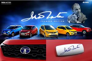 Tata Founder Edition range marks the brand
