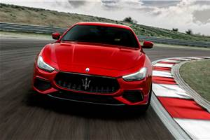 2021 Maserati Ghibli launched at Rs 1.15 crore