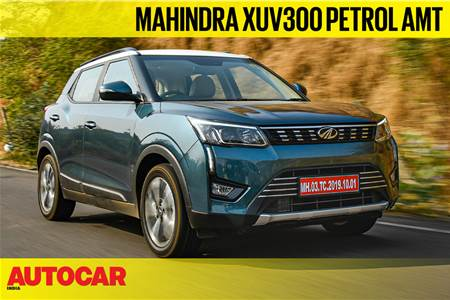 2021 Mahindra XUV300 petrol-AMT video review