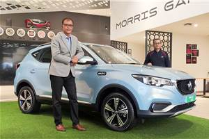 2021 MG ZS EV launched at Rs 20.99 lakh