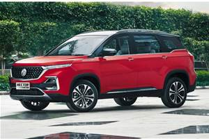 MG Hector petrol CVT launched at Rs 16.52 lakh