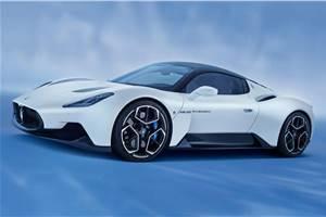 Future Maserati models to use MC20's engine tech