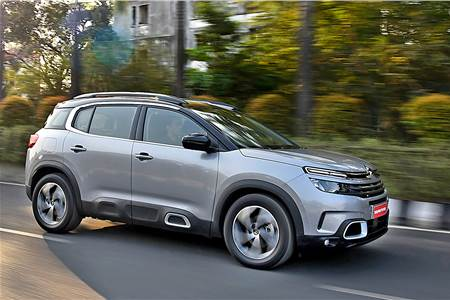 Citroen C5 Aircross India review, test drive