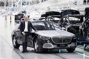Mercedes-Benz rolls out its 50 millionth car