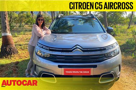 Citroen C5 Aircross India video review