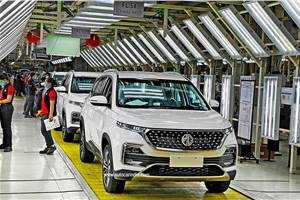 MG Motor India to ramp up plant capacity and localisation