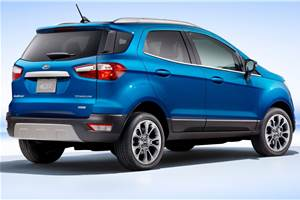 Ford to offer new Ecosport SE variant without tailgate spare