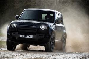 Land Rover Defender V8 revealed