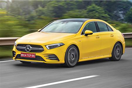 Mercedes AMG A35 sedan India review, test drive
