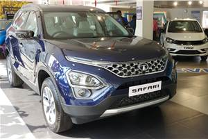 Tata Safari waiting period creeping up