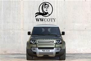 Land Rover Defender wins 2021 Women's World Car of the Year award
