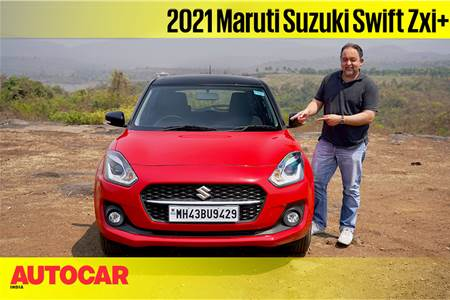 2021 Maruti Suzuki Swift facelift video review