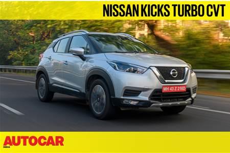 Nissan Kicks Turbo CVT video review