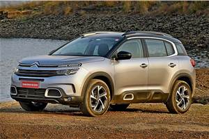 Citroen C5 Aircross India launch on April 7, 2021